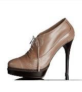 巴宝莉Burberry马勒皮革绑带及踝靴