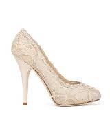 D&G粉色蕾丝高跟鞋