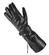 高缇耶Jean Paul Gaultier2013秋冬系列黑色皮手套