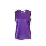 Ports1961紫色无袖衬衣