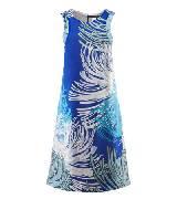 Gucci 2013春夏海葵图案直筒长裙