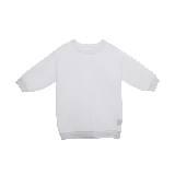 MO&Co.纯白七分袖上衣