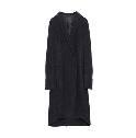 Anteprima黑色羊毛简约大衣