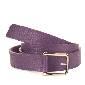 Furla芙拉紫色牛皮腰带