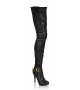 AdR for H&M系列黑色过膝长靴