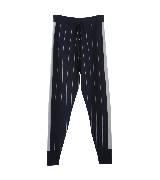 MO&Co.系带条纹运动裤