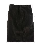Loewe罗威棕色短裙