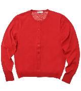 Paul Smith2013春夏花纹里衬大红色羊毛开衫