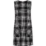 Karl Lagerfeld卡尔•拉格斐朋克系列无袖连衣裙