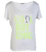 KOOKA 2013年春夏灰色字母短袖T恤