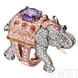 宝诗龙Boucheron大象式戒指