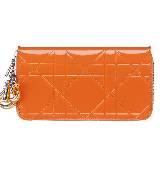 Dior迪奥橙色零钱包