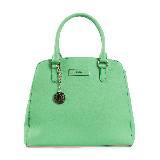 DKNY绿色手拎包
