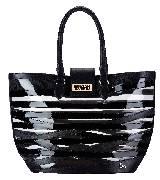 Christian Louboutin黑色塑料手拎包