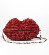 Anteprima红色线圈手提包
