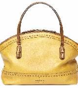 Gucci2014春夏黄色皮质单肩包