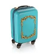 AdR for H&M系列蓝色浮雕拉杆箱