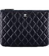 Chanel香奈儿幻彩颗粒压纹牛皮化妆袋