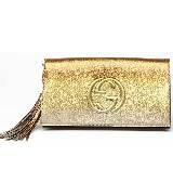 Gucci2014春夏金黄色手拿包