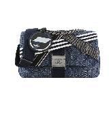 Chanel香奈儿2016春夏高级成衣系列 丹宁口盖包