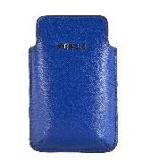 Furla芙拉蓝色皮革iPhone保护套