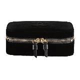 Chanel香奈儿黑色丝绒首饰盒