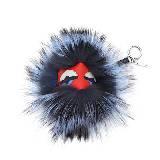 芬迪Fendi Bag Bug红色绒毛手袋挂件