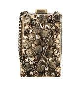 Chanel香奈儿2016巴黎在罗马高级手工坊系列金属链条包