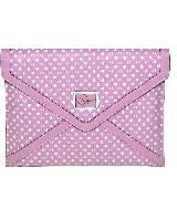 GUESS Elara系列粉色糖果色信封形手拿包