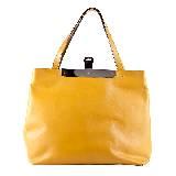 高缇耶Jean Paul Gaultier2013秋冬系列黄色手拎袋