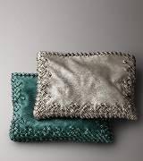 Bottega Veneta葆蝶家绿色蛇皮方款手提包