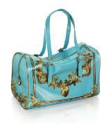 AdR for H&M系列蓝色印花手提包