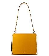高缇耶Jean Paul Gaultier2013秋冬系列黄色小牛皮手拎包