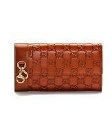 Gucci2012圣诞特别系列压纹钱包
