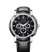 Graff格拉夫chrono graff chronograff类钻石涂层白金黑色表盘