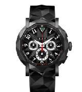 Graff格拉夫chrono graff chronograff类钻石涂层黑色表盘