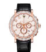 Graff格拉夫chrono graff chronograff45毫米玫瑰金钻石