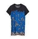 Louis Vuitton 2013早春Cruise系列蓝色短袖T恤