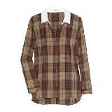 Carven五彩格纹衬衫