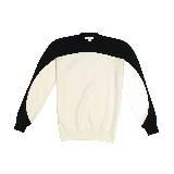 赛琳(Celine)2013春夏黑白搭配圆领套头衫