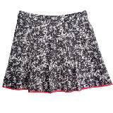 DKNY黑白印花半裙