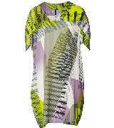 Benetton(贝纳通)2013春夏绿色印花连衣裙