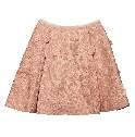 Louis Vuitton丝绵混纺蓬展短裙