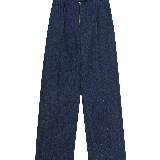 Celine牛仔布宽松长裤