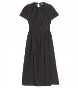 Burberry Prorsum 黑色收腰连衣裙