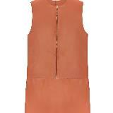 Celine赛琳橙色皮裙