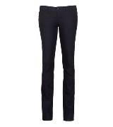 DKNY JEANS深藏蓝色牛仔长裤