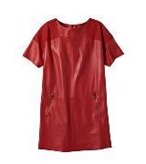 Louis Vuitton 2013早春Cruise系列皮质连身裙