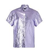 Burberry2013年春夏银色金属感T恤