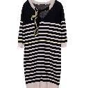 Louis Vuitton条纹宽体连身裙